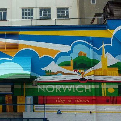 Pottergate Norwich mural