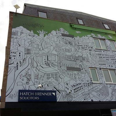 Hatch Brenner Norwich Mural