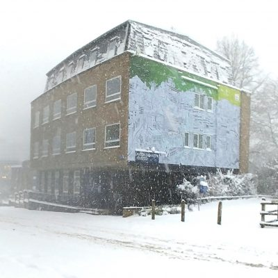 Beast from the East in Norwich