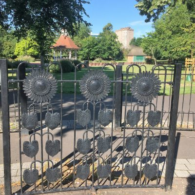 Chapelfield garden gates
