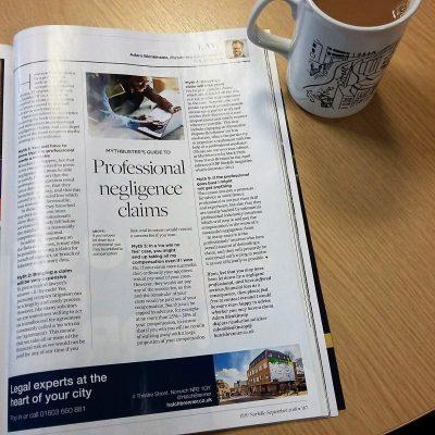 Norfolk Magazine Professional Negligence