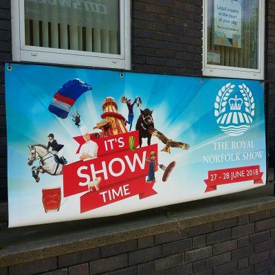 Norfolk Show banner