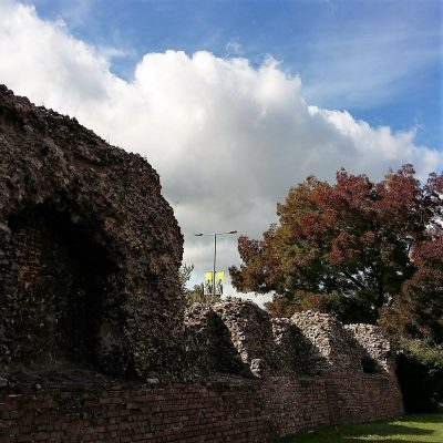 Norwich city wall