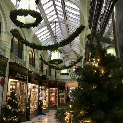 Royal Arcade Christmas Lights