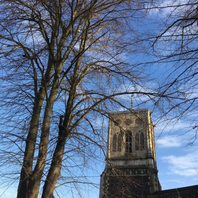 St Stephens Norwich In January
