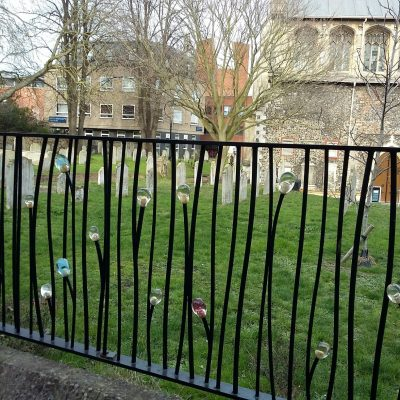 St Stephen's Railings in Norwich