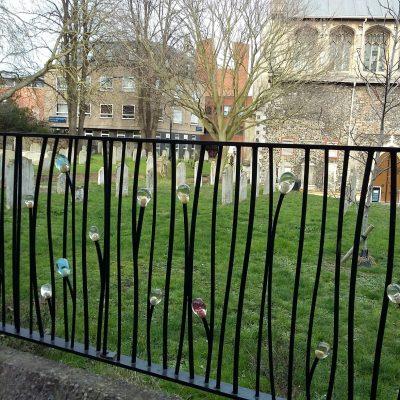 St Stephen's Railings in Norwich