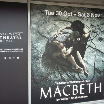 Theatre Royal Macbeth Poster