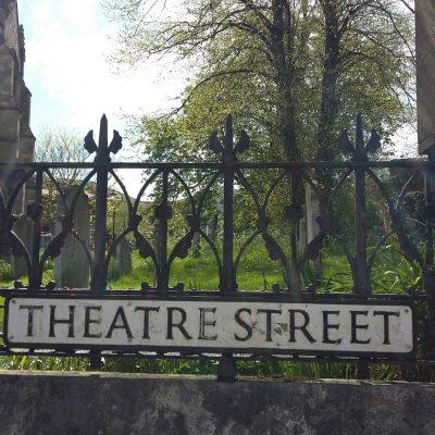 Theatre Street sign