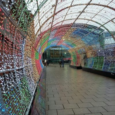 Norwich Tunnel of Light 2018