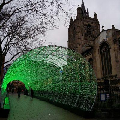 Tunnel of Light in Norwich