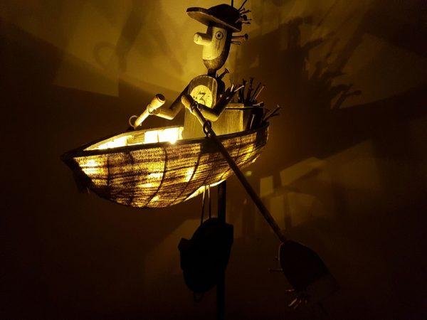 MOCO Theatre Norwich Frankenstein boat prop