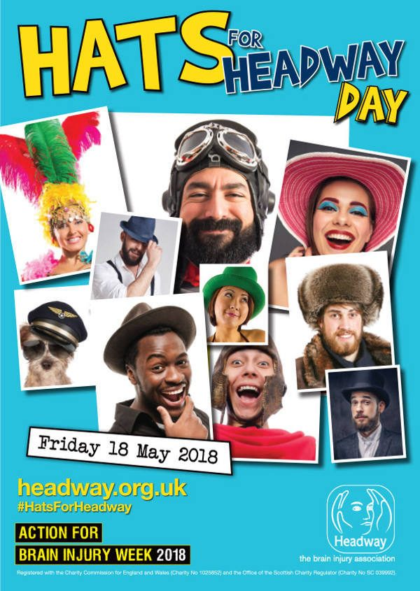 Hats For Headway Poster 2018