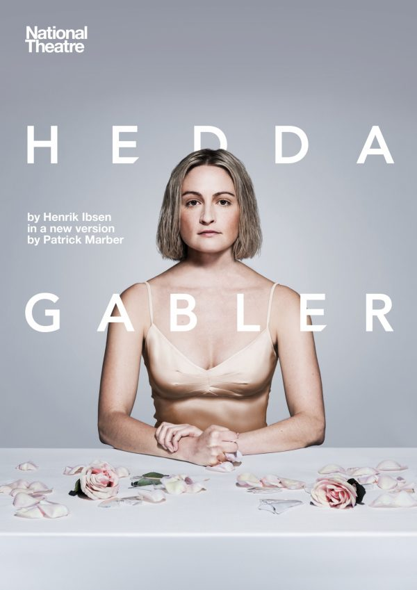 Hedda Gabler Portrait With Title Photography Lizzy Watts By Hugo Glendinning