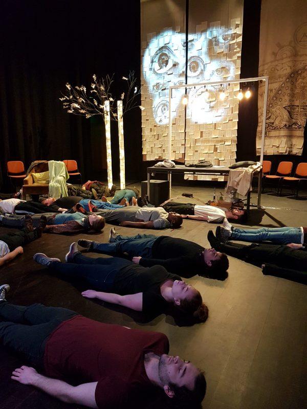Moco Theatre Company Rehearsing in Norwich