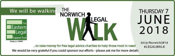 Norwich Legal Walk 2018