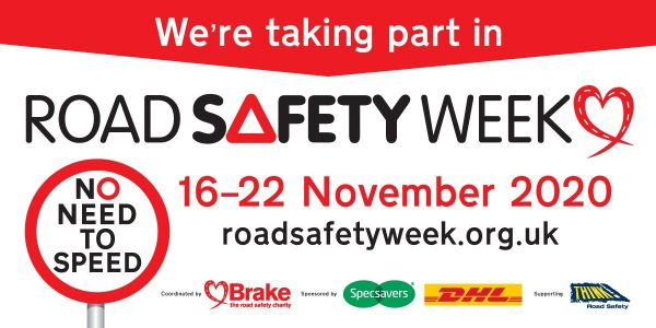 No need to speed: Hatch Brenner Solicitors supports Road Safety Week 2020