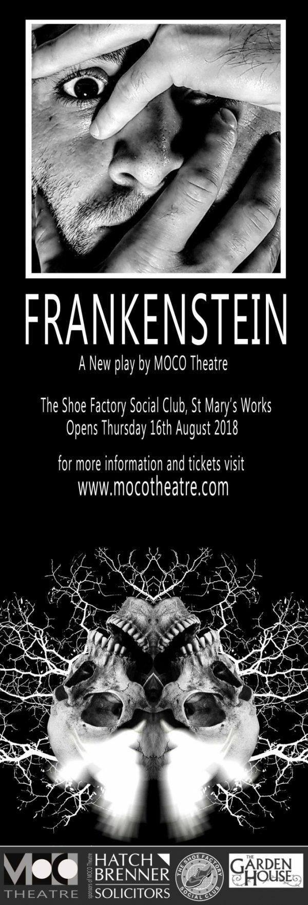 MOCO Theatre Norwich Frankenstein Poster