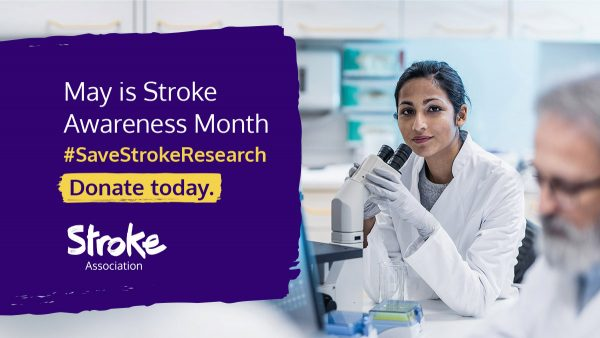 Stroke association save research campaign